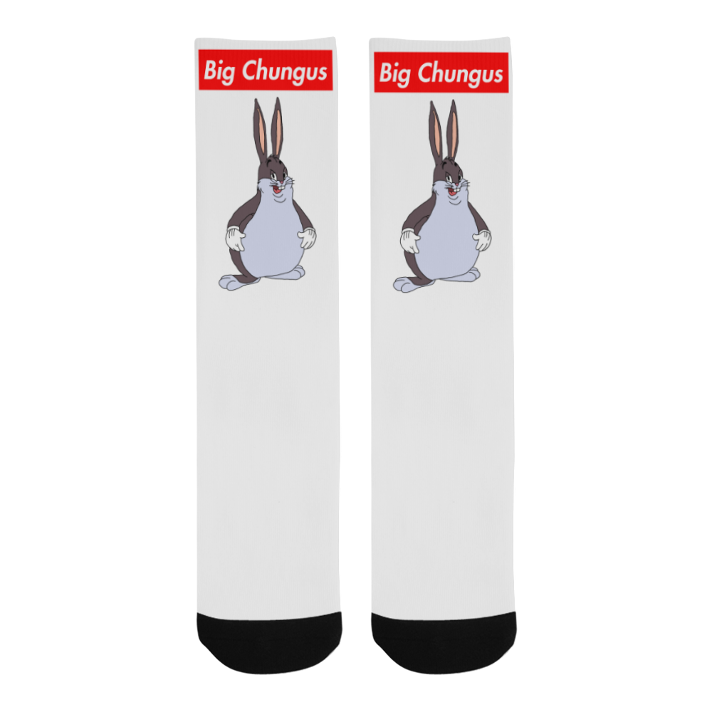 Big Chungus Socks Onyx Prints