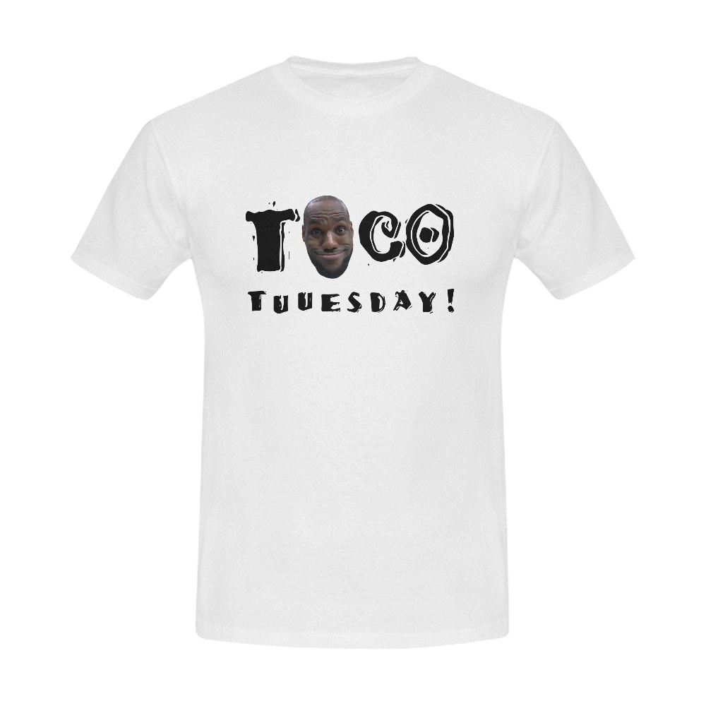 buy online ede13 8987d LeBron James Taco Tuesday Shirt
