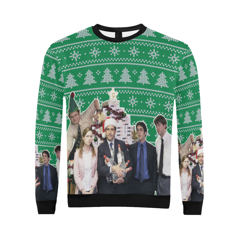 The Office Christmas Sweater.The Office Ugly Christmas Sweater Tv Show