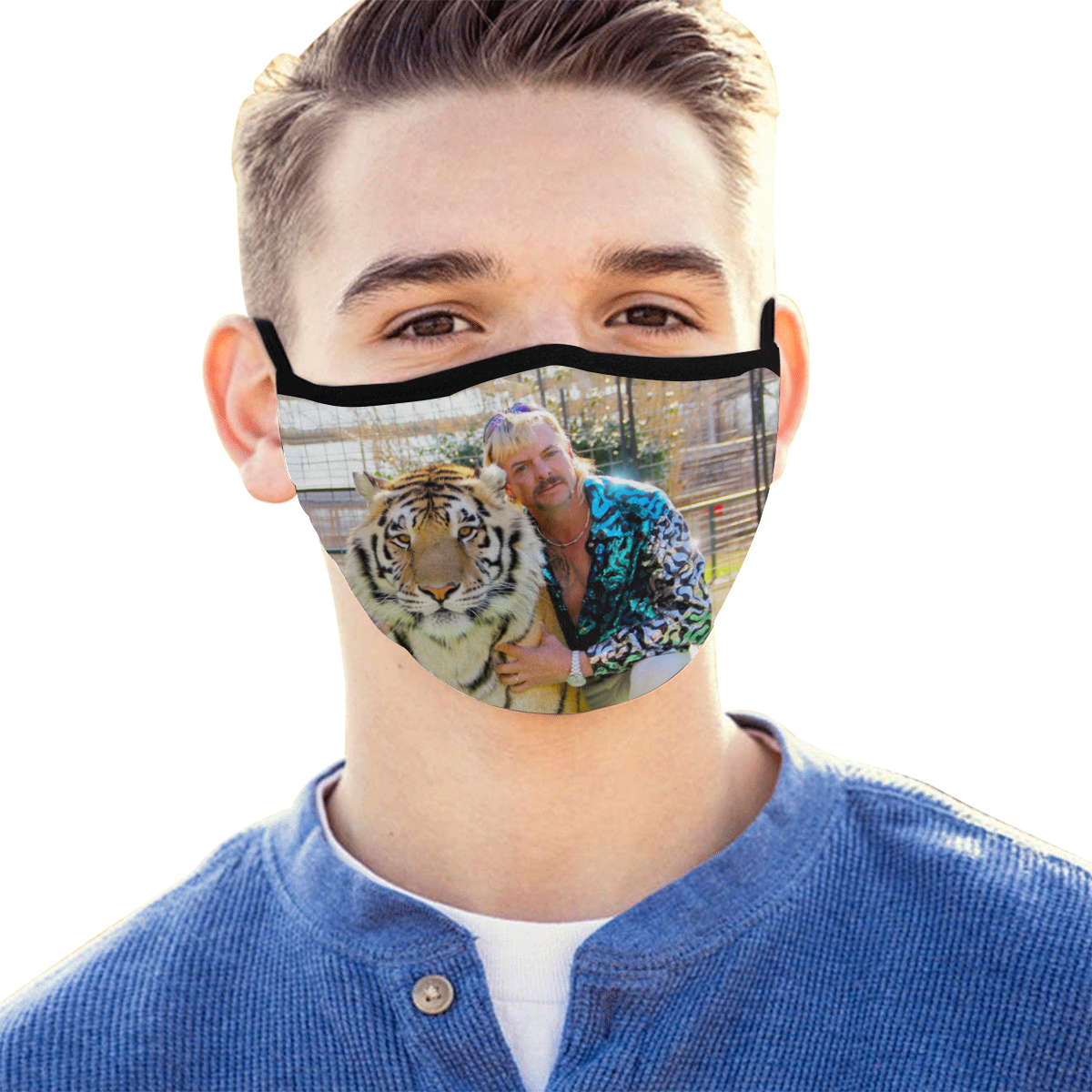 Joe Exotic Face Mask Tiger King Onyx Prints